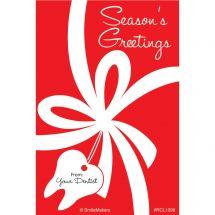 Season's Greeting Dental Recall Cards