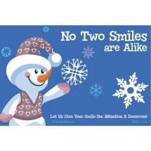 Smile Snowflake Recall Cards