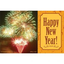 Happy New Year Fireworks Recall Cards
