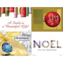 Assorted Christmas Laser Cards