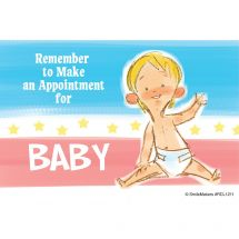 Baby Appointment Reminder Recall Cards