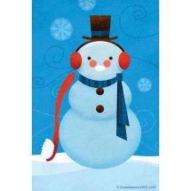Dental Snowman Recall Cards