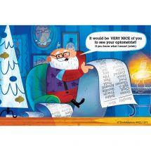 Santa's Nice List Eyecare Recall Car