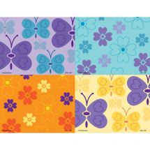 Assorted Graphic Elements Laser Cards