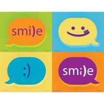 Assorted Dental Emoticon Laser Cards