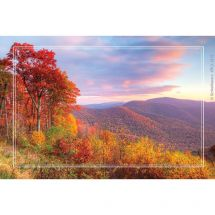 Fall Mountains Recall Cards