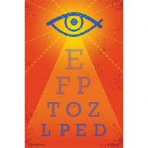 Gleaming Eye Chart Recall Cards