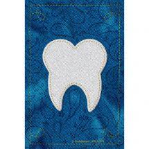 Custom Denim Tooth Recall Cards