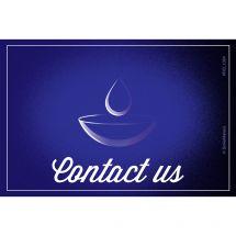 Custom Contact Us Eyecare Recall Cards