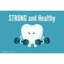 Strong & Healthy Tooth Recall Cards