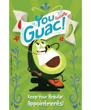 Totally Guac Custom Recall Cards