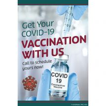 Custom Get Vaccinated Recall Cards