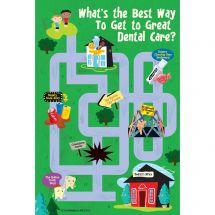 Great Dental Care Maze Recall Cards