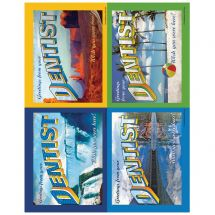 Assorted Scenic Greetings Laser Cards