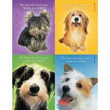 Assorted Smile Puppies Laser Cards