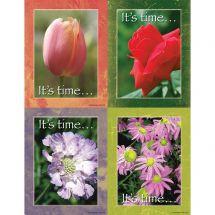Assorted Floral Laser Cards