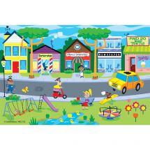 Find Teeth Street Scene Recall Cards