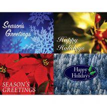 Season's Greetings Laser Cards