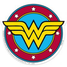 Wonder Woman Logo Re-stickables