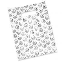 Smile With Braces Scatter Print Bags