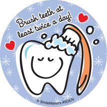 Simple Dental Stickers