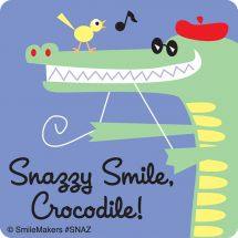 Snazzy Smile Stickers