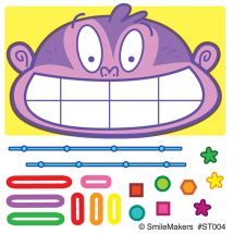 Make Your Own™ Braces Stickers