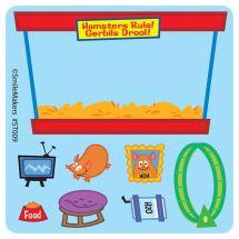 MakeYourOwn Hamster Habitat Stickers