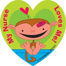 My Nurse Loves Me Animals Stickers
