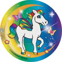 Glitter Rainbows & Moonbeams Stickers