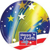 Foil Fireworks Stickers