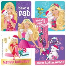 Barbie: Holidays Stickers