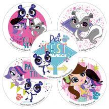 Littlest Pet Shop: Party Time Stickers