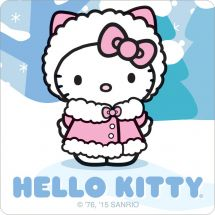 Hello Kitty Winter Stickers