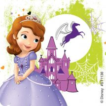 Sofia the First Halloween Stickers