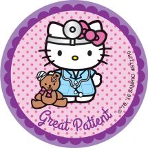 Hello Kitty Patient Stickers