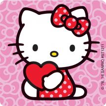 Hello Kitty Valentine's Stickers