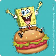 SpongeBob SquarePants™ Shaped Stickers