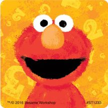 Sesame Street Chalk Stickers