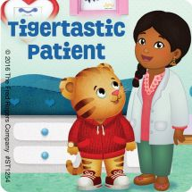 Daniel Tiger's Neighborhood Patient Stickers