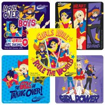 DC Super Hero Girls: Girls Rule the World Stickers