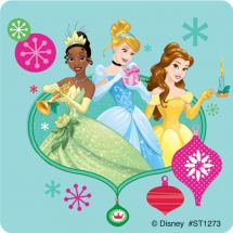 Disney Princess Christmas Stickers