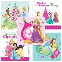 Disney Princess Christmas Stickers
