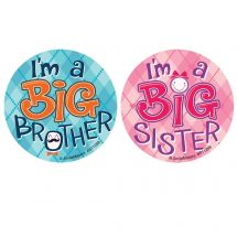 I'm a Big Brother/Sister Stickers