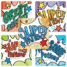 Super Patient Stickers