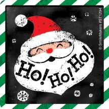 Chalk it up to the Holidays Stickers