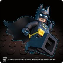 Lego Batman Shaped Stickers