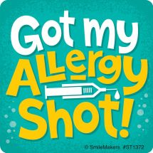 Allergy Shot Stickers
