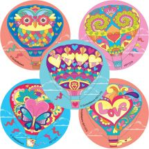 Decorative Hot Air Balloons Stickers
