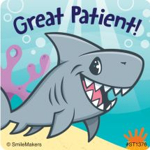 Great Patient Sea Life Pals Stickers
